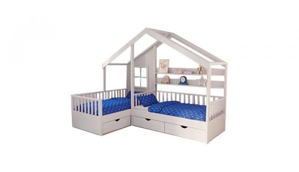 Кровать «Домик 36» 80x160 см