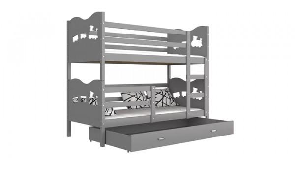Кровать «Паровозик» 80x180 см