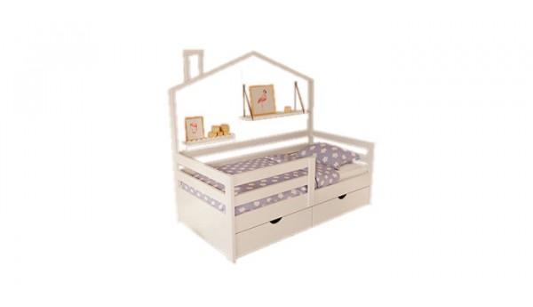 Кровать «Домик 17» 80x160 см