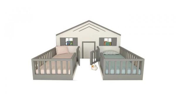 Кровать «Домик 20» 80x160 см
