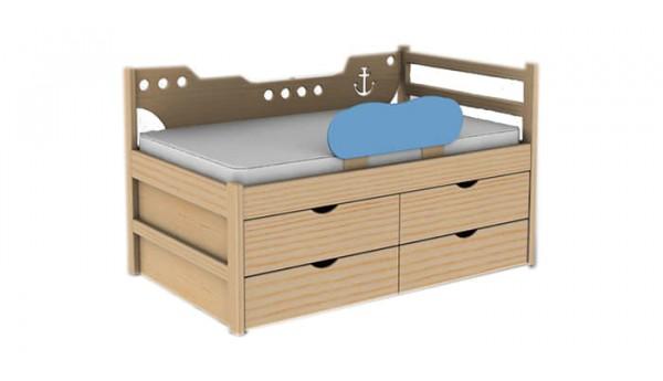 Кровать «Кораблик» 80x160 см