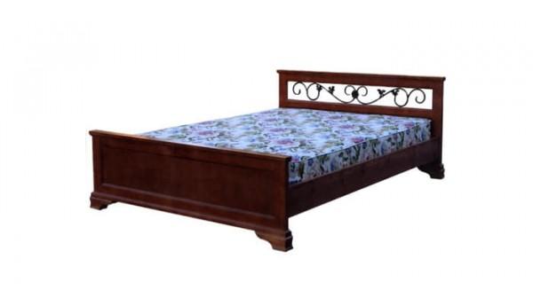 Кровать «Классика» с ковкой 120x200 см
