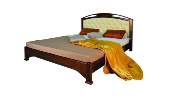 Кровать «Омега» с мягкой вставкой 120x200 см