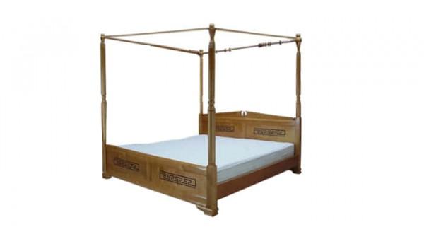 Кровать «Афина» с балдахином 120x200 см